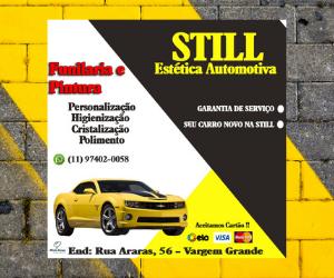 Anúncio - Still Estética Automotiva