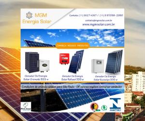 Anúncio - MGM Energia Solar