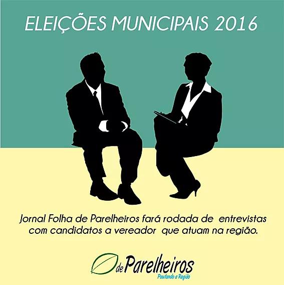 FOLHA DE PARELHEIROS FARÁ RODADA DE ENTREVISTAS COM PRÉ-CANDIDATOS A VEREADOR