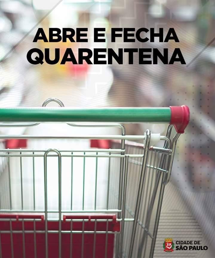 Decreto da Prefeitura de São Paulo para a quarentena esclarece o que abre e o que fecha na cidade