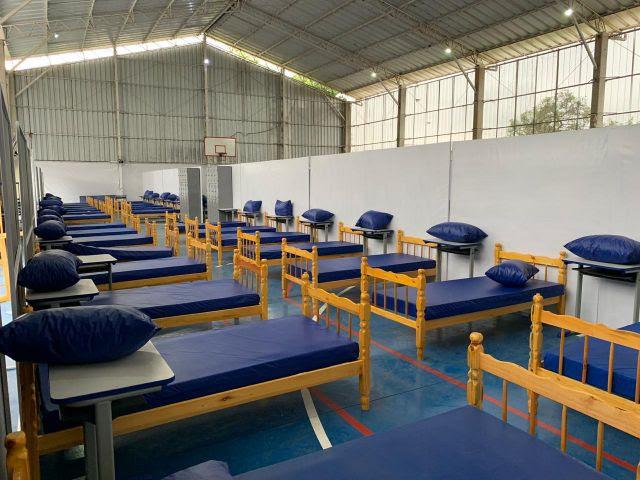 Todos pela Saúde transforma Escola Estadual Professor Luís Magalhães de Araújo (São Paulo, SP) em centro de acolhimento para pacientes com sintomas leves da covid-19